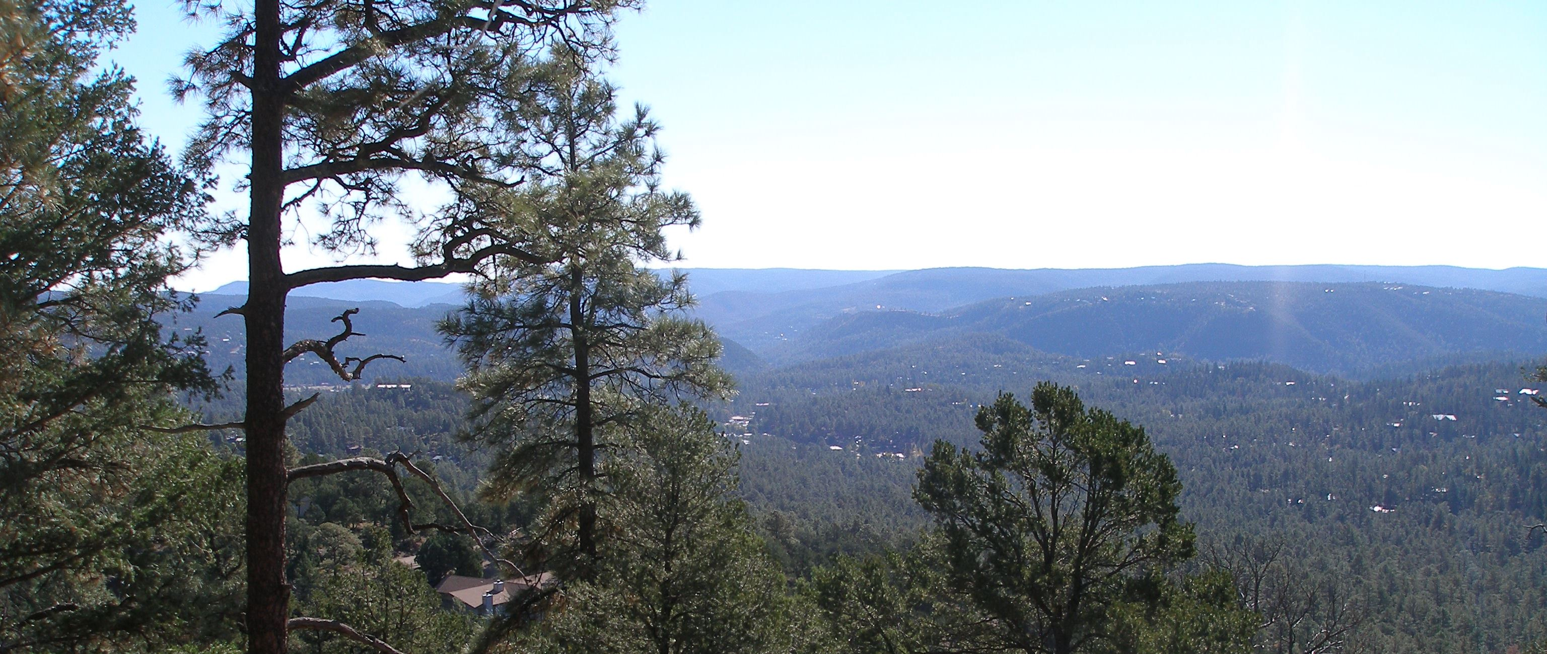 View of Ruidoso from Twin Mountain Cabin