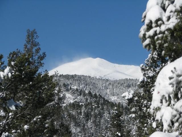 Sierra Blanca with snow